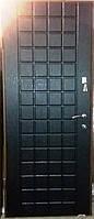 Входная дверь модель П2-0000 СКОЛ ДУБА ЧЕРНЫЙ