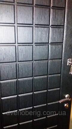 Входная дверь модель П2-0000 СКОЛ ДУБА ЧЕРНЫЙ, фото 2