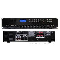 Усилитель трансляционный MUSP480-MP3/FM 6-ти зонный