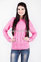 Свитер женский вязаный Palvira розовый 46 pal 5078