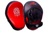 Лапы для бокса PowerPlay 3035 Economy series Red