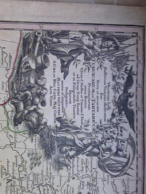 Карта Украины 1740-е годы (Turcicarum et Tartaricum), фото 2