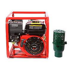 Мотопомпа бензиновая WEIMA WMQBL65-55 (высоконапорная для капельного полива, 25 куб.ч/час)