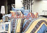 """Двуспальный комплект постельного белья """"Голубая лагуна""""."""