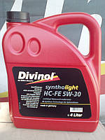 Моторное масло 5w30   divinol hc-fe  (канистра 4л)