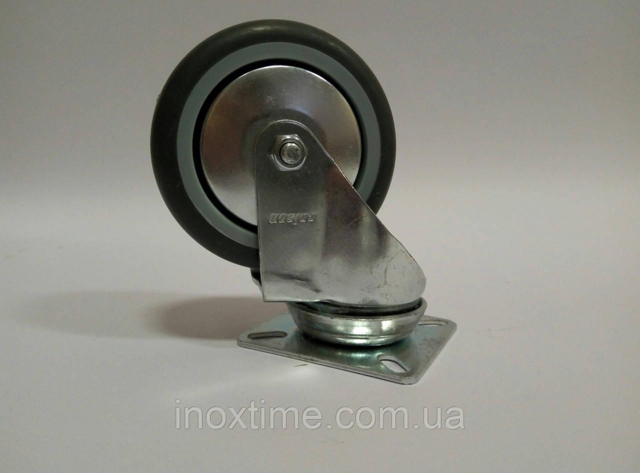 Поворотное аппаратное колесо с серым протектором JD BD-серии