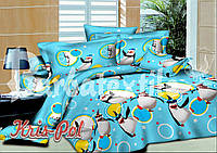 """Детский комплект постельного белья """"Пингвинёнок""""."""