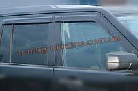 Дефлекторы окон (ветровики) COBRA-Tuning на LAND ROVER DISCOVERY III 2004-2009