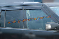Дефлекторы окон (ветровики) COBRA-Tuning на LAND ROVER DISCOVERY IV 2009