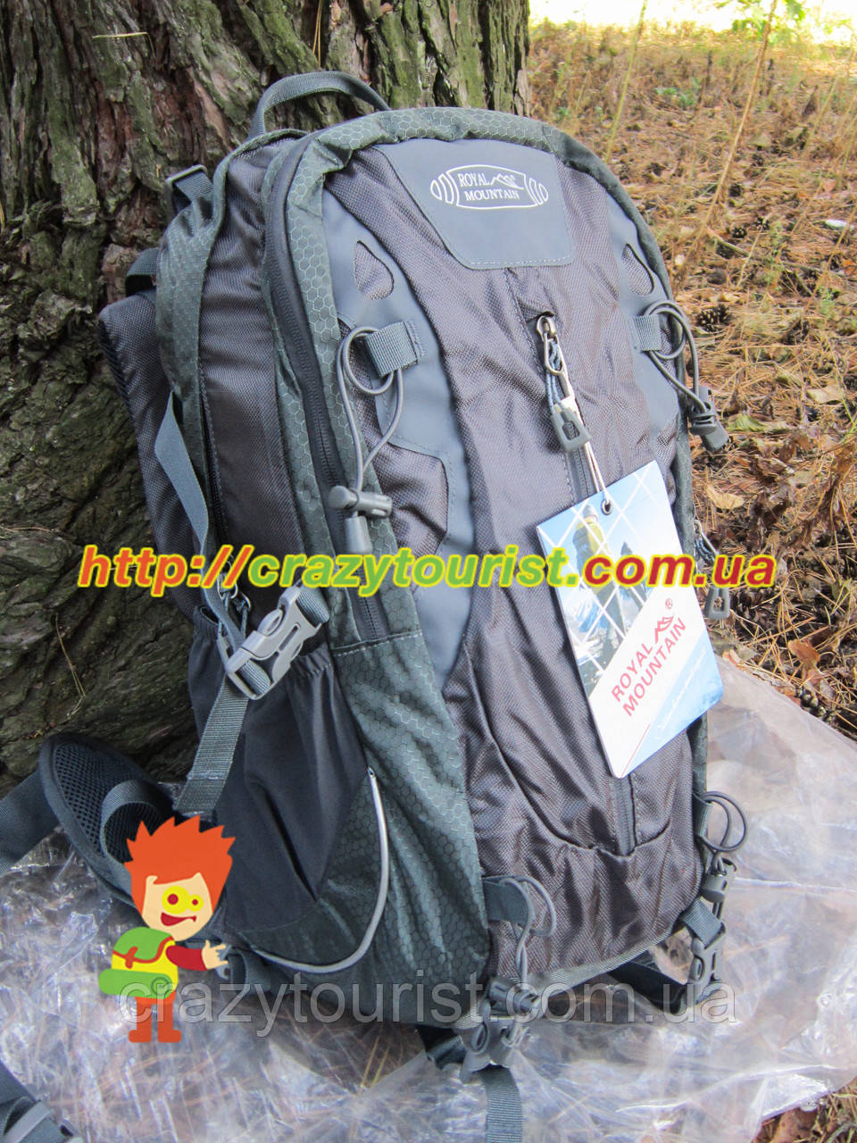 "Рюкзак Royal Mountain 1451 40 L Black - Интернет-магазин ""Crazy Tourist"" в Днепре"