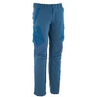 Штаны, брюки мужские туристические Quechua FORCLAZ 100 WARM синие