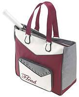 Стильная женская теннисная сумка для одной ракетки  283065 Womens Club Bag HEAD