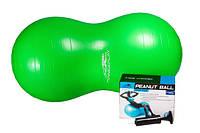 Мяч гимнастический - орех PowerPlay 4004 100х50см + насос