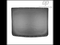Коврик в багажник Volkswagen Touareg с 2010- (2-х зонный климат контроль) / цвет:черный