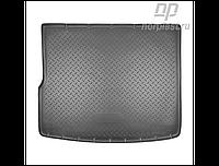 Коврик в багажник Volkswagen Touareg с 2010- (4-х зонный климат контроль) / цвет:черный