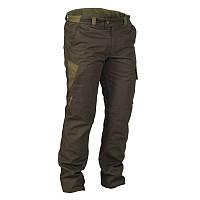 Зимние штаны, брюки мужские охотничьи водонепроницаемые Solognac 100, темно коричневі
