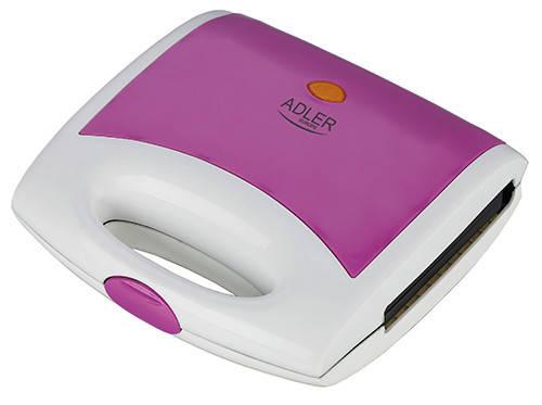 Вафельница Adler AD 3021 750 Вт фиолетовая