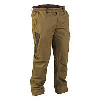 Зимние штаны, брюки мужские охотничьи водонепроницаемые Solognac 100, оливковые