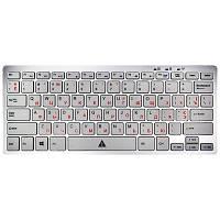 Клавиатура Golden Field  K111SS-USB+HUB USB, USB, Silver, slim