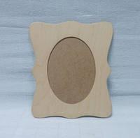 Рамка деревянная Фигурная