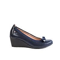 Туфли женские кожаные Venezia 125 син., фото 1