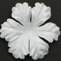 Цветок   большой 5 -листник. белый. Размер 30 мм