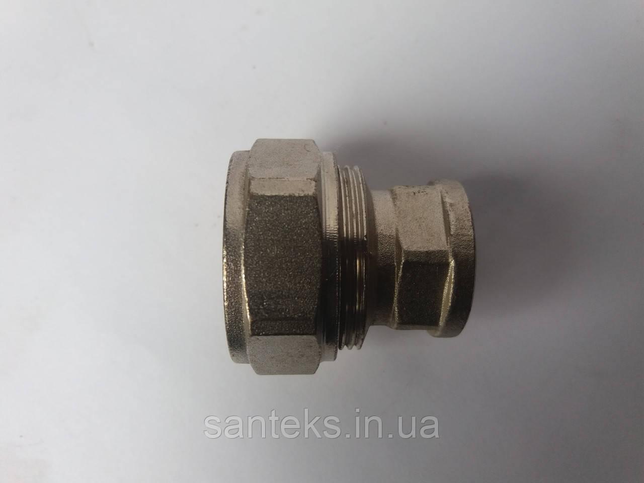 Сгон металлопластиковый диаметр 26 х 1/2 внутренняя резьба