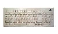 Клавиатура Golden Field  K111SW-USB+HUB, USB, White, slim