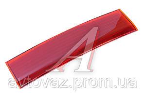 Накладка (отражатель) ВАЗ 2110 крышки багажника (красная)