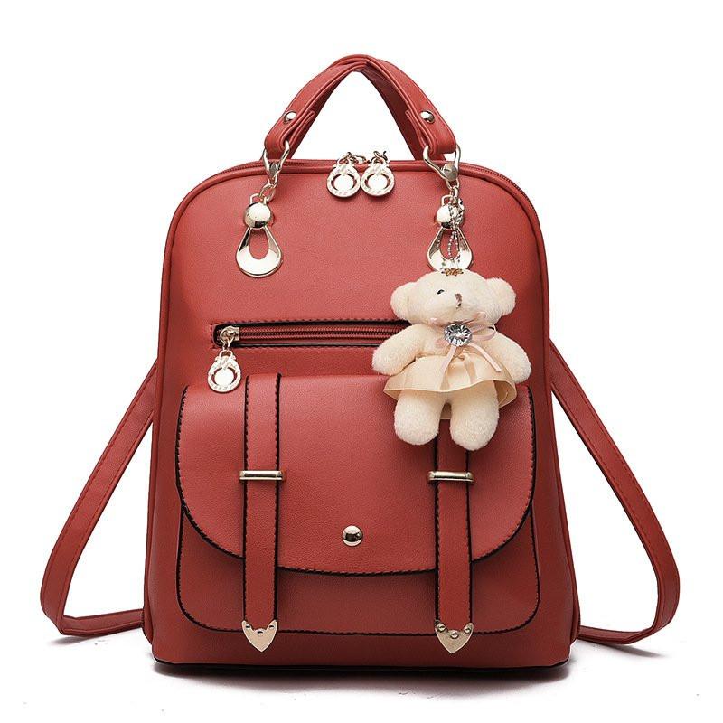 f4fcf60c24b8 Рюкзак женский Candy Bear dark red - DK-Trading - интернет-магазин мужских и