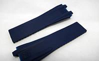 Ремешок к часам Ulysse Nardin синий, двухстержневой (ААА)., фото 1