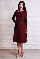 Молодежное платье под пояс