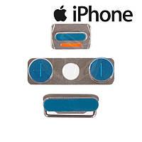 Пластик боковых кнопок корпуса для iPhone 4S, оригинал