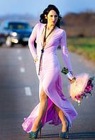 Платье глубокое декольте 330 НС