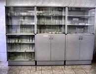 Шкафы и пеналы лабораторные