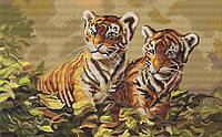 "Набор для вишивания гобелена ""Luca-S"" G442 Тигрята"