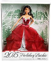 Коллекционная кукла Барби афроамериканка Праздник Barbie Collector 2015 Holiday African-American CHR78
