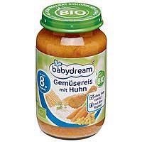 Babydream Bio Menü Gemüsereis mit Huhn - Рис с овощами и курицей, с 8 месяца, 220 г