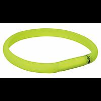 Trixie TX-12685 USB Flash Light Band-ошейник светящийся для собак 70 см / 18 мм