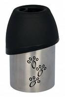 Trixie TX-24605 бутылка дорожная+миска (сталь/пластик) 300мл