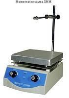Мешалка магнитная лабораторная ЛММ-2 (0,5л) с подогревом
