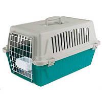 Ferplast  ATLAS 10 EL с металлической дверью,кормушкой и ковриком переноска для собак