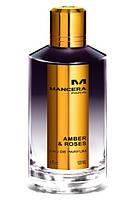 Мужская нишевая парфюмировання вода Mancera Amber & Roses 120ml