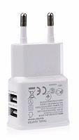 Зарядное устройство зарядка USB 2-2 А #100372