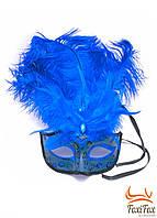 Венецианская карнавальная маска на лицо