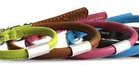 CoLLar Glamour ошейник для собак круглый с адресником (длина 33-41см, диаметр - 8 мм) (3476)