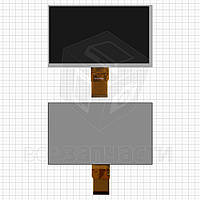 "Дисплей для планшета China-Tablet PC 7"", шлейф 40 мм, (164*97 мм), 50 pin, 7"", (800*480), #MFPC070002/BF609070"