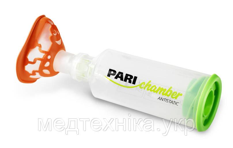 Спейсер Pari Chamber Antistatic c маской для детей от 2 лет, 240 мл, Германия