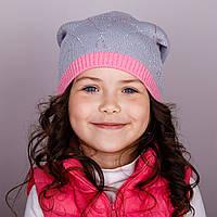 Модная шапка для девочек в розницу, весна-осень  - Артикул 1712