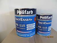 Эмаль алкидная  Полифарб ПФ-115 ГОСТ 0,9 кг